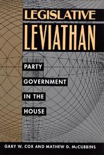 Legislative Leviathan by Gary W. Cox, Mathew D. McCubbins