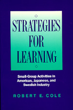 Strategies for Learning by Robert E. Cole