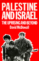 Palestine and Israel by David McDowall
