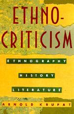 Ethnocriticism by Arnold Krupat