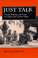 Just Talk by Karen J. Brison