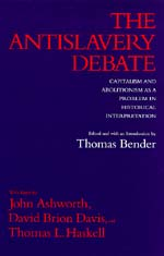 The Antislavery Debate by Thomas Bender