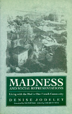 Madness and Social Representation by Denise Jodelet, Gerard Duveen