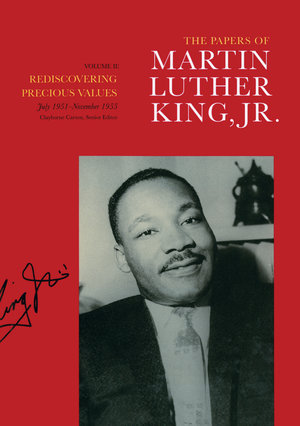 The Papers of Martin Luther King, Jr., Volume II by Martin Luther King Jr., Clayborne Carson, Ralph E. Luker, Penny A. Russell