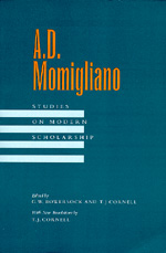 A. D. Momigliano by G. W. Bowersock, T. J. Cornell