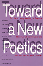 Toward a New Poetics by Serge Gavronsky
