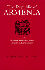 The Republic of Armenia, Vol. IV by Richard G. Hovannisian
