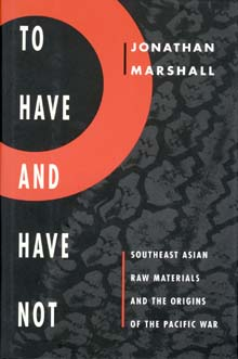 To Have and Have Not by Jonathan Marshall