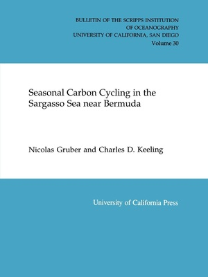 Seasonal Carbon Cycling in the Sargasso Sea Near Bermuda by Nicolas Gruber, Charles D. Keeling