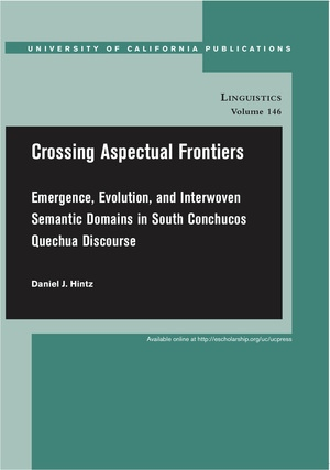 Crossing Aspectual Frontiers by Daniel J. Hintz