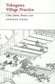 Tokugawa Village Practice by Herman Ooms