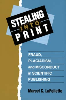Stealing Into Print by Marcel C. LaFollette