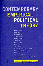 Contemporary Empirical Political Theory by Kristen Renwick Monroe