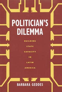 Politician's Dilemma by Barbara Geddes