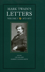 Mark Twain's Letters, Volume 5 by Mark Twain, Lin Salamo, Harriet E. Smith