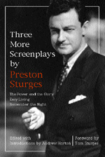 Three More Screenplays by Preston Sturges by Preston Sturges, Andrew Horton
