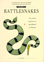 Rattlesnakes by Laurence M. Klauber