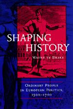 Shaping History by Wayne te Brake