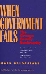 When Government Fails by Mark Baldassare