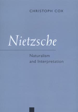 Nietzsche by Christoph Cox