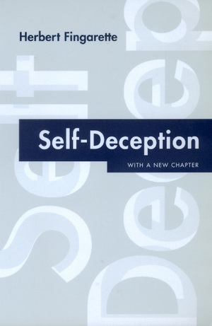 Self-Deception by Herbert Fingarette