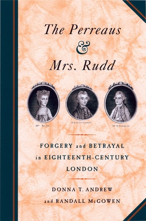 The Perreaus and Mrs. Rudd by Donna T. Andrew, Randall McGowen
