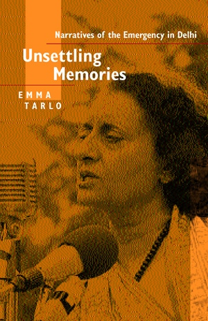 Unsettling Memories by Emma Tarlo