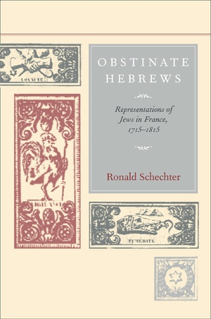 Obstinate Hebrews by Ronald Schechter