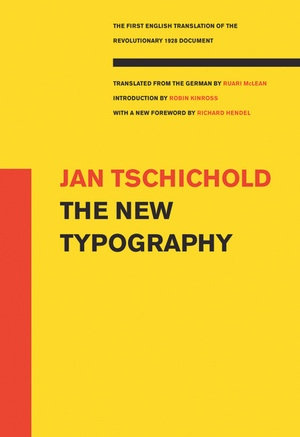 The New Typography by Jan Tschichold