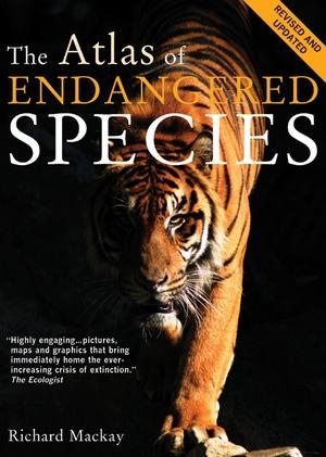 The Atlas of Endangered Species by Richard Mackay