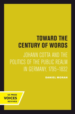 Toward the Century of Words by Daniel Moran