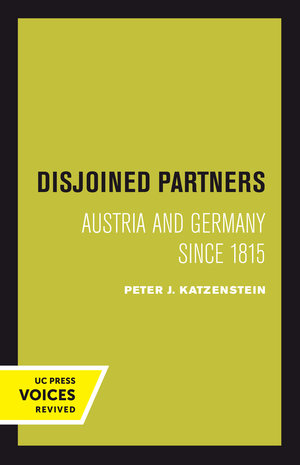Disjoined Partners by Peter Katzenstein