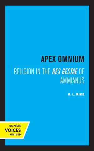 Apex Omnium by R. L. Rike