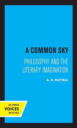A Common Sky by A.D. Nuttall