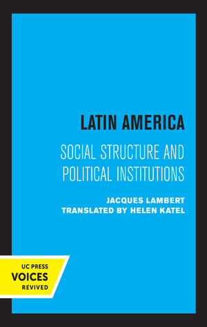 Latin America by Jacques Lambert