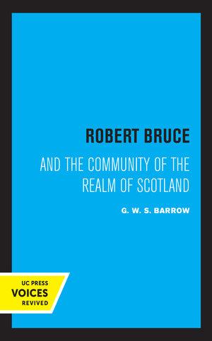 Robert Bruce by G.W.S. Barrow