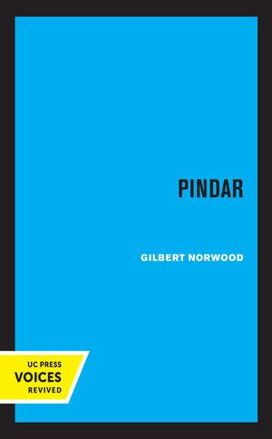 Pindar by Gilbert Norwood