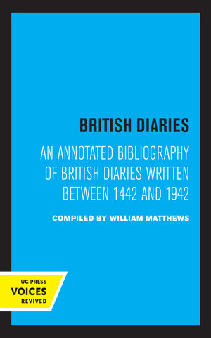 British Diaries by