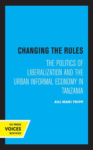 Changing the Rules by Aili Mari Tripp