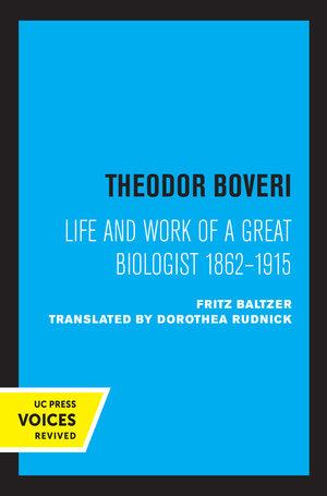 Theodor Boveri by Fritz Baltzer