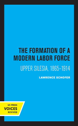 The Formation of a Modern Labor Force by Lawrence Schofer