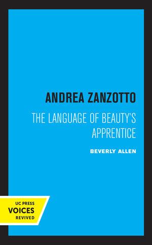 Andrea Zanzotto by Beverly C. Allen