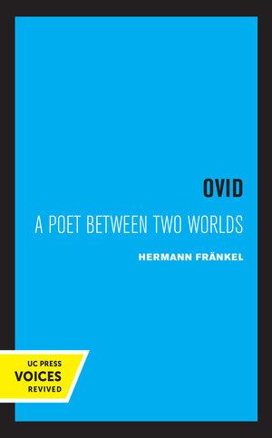 Ovid by Hermann Frankel