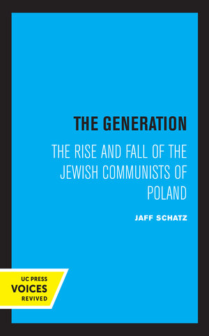 The Generation by Jaff Schatz