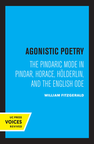 Agonistic Poetry by William Fitzgerald
