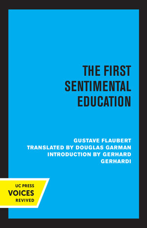 The First Sentimental Education by Gustave Flaubert