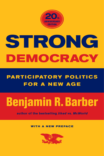 Benjamin Barber Strong Democracy Pdf