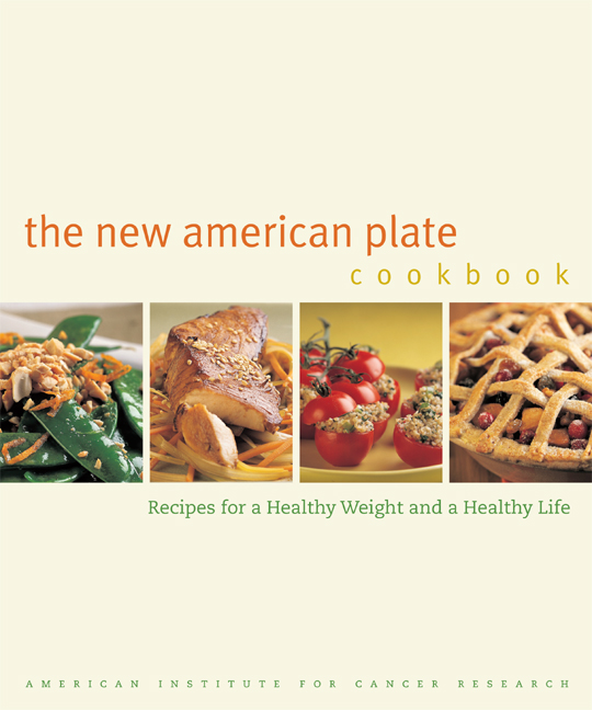 The new american plate cookbook by american institute for cancer download cover image forumfinder Images
