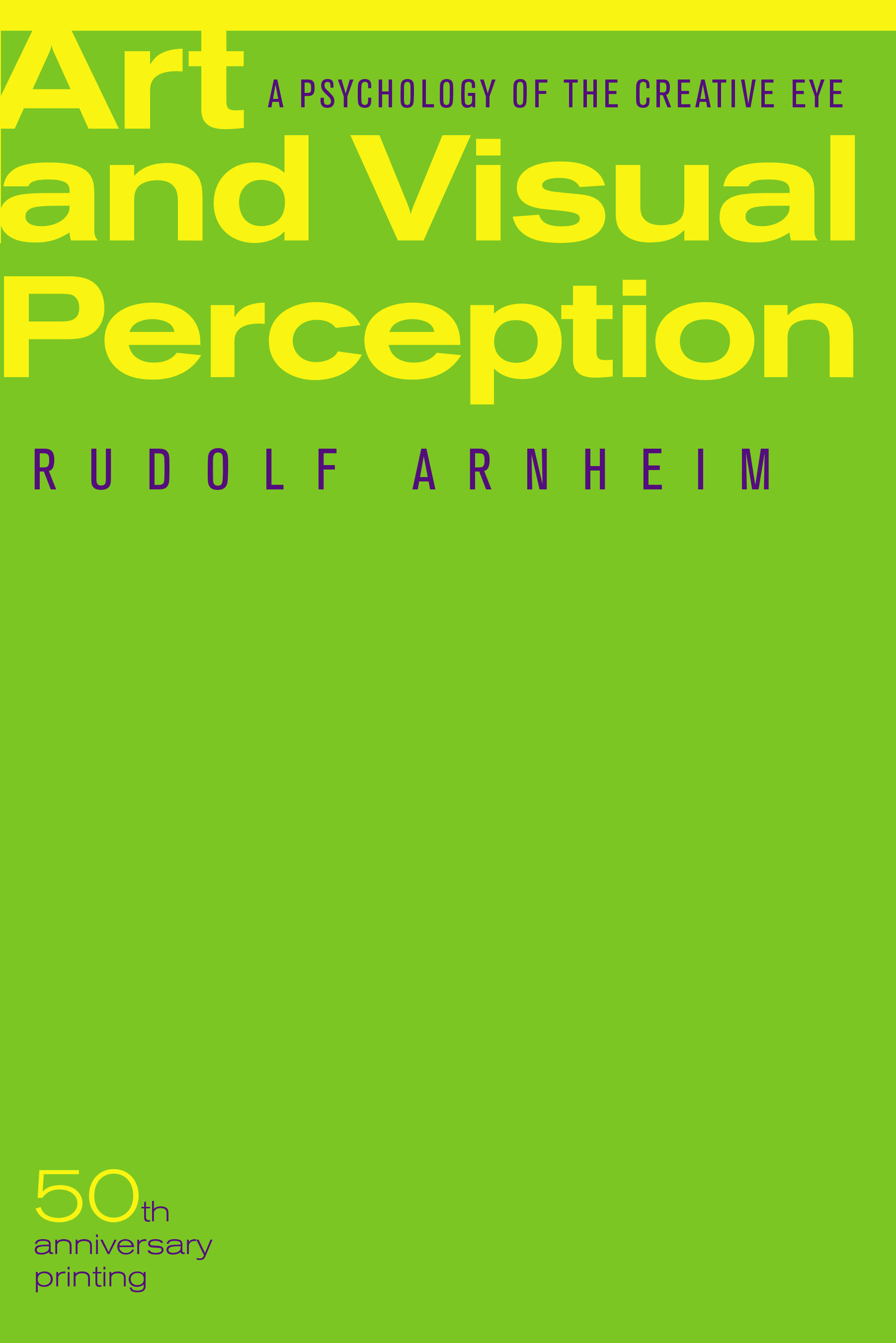 Art and visual perception by rudolf arnheim paperback university download cover image thecheapjerseys Gallery