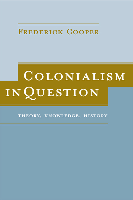 Colonialism in question by frederick cooper paperback university download cover image create a flier for this title fandeluxe Images